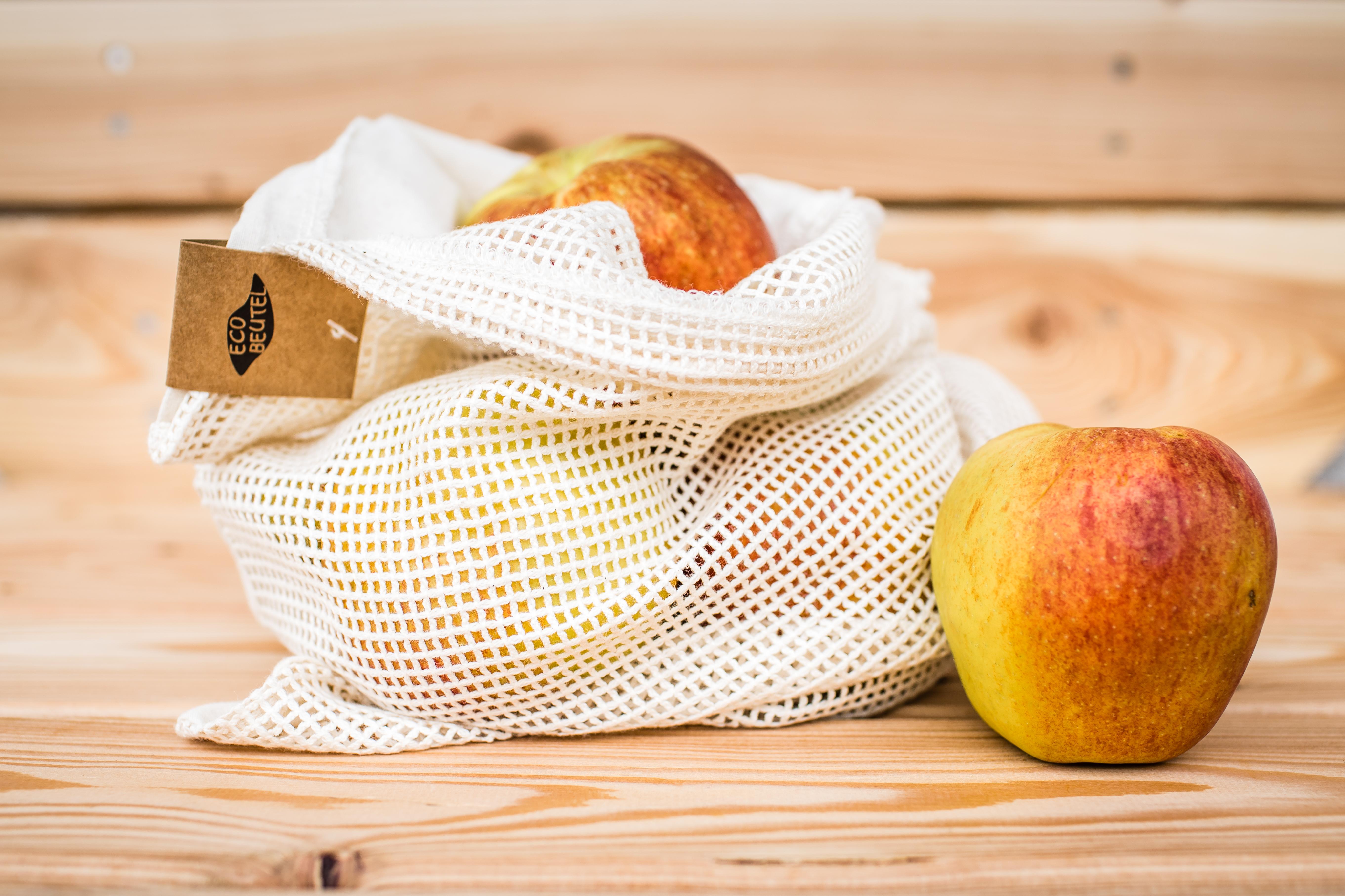 Ökobeutel für Obst und Gemüse